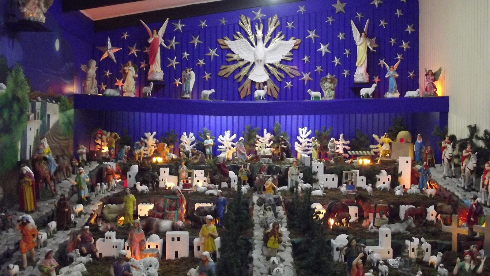 Nacimiento hogare o visitable de mois s absalon el blog - Cosas originales para navidad ...