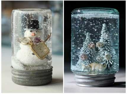 Haz tu propia bola de nieve navide a el blog de navidad - Como hacer bolas de nieve ...