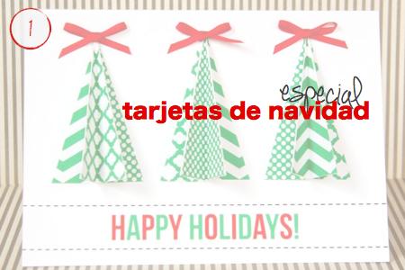 especial tarjetas de navidad