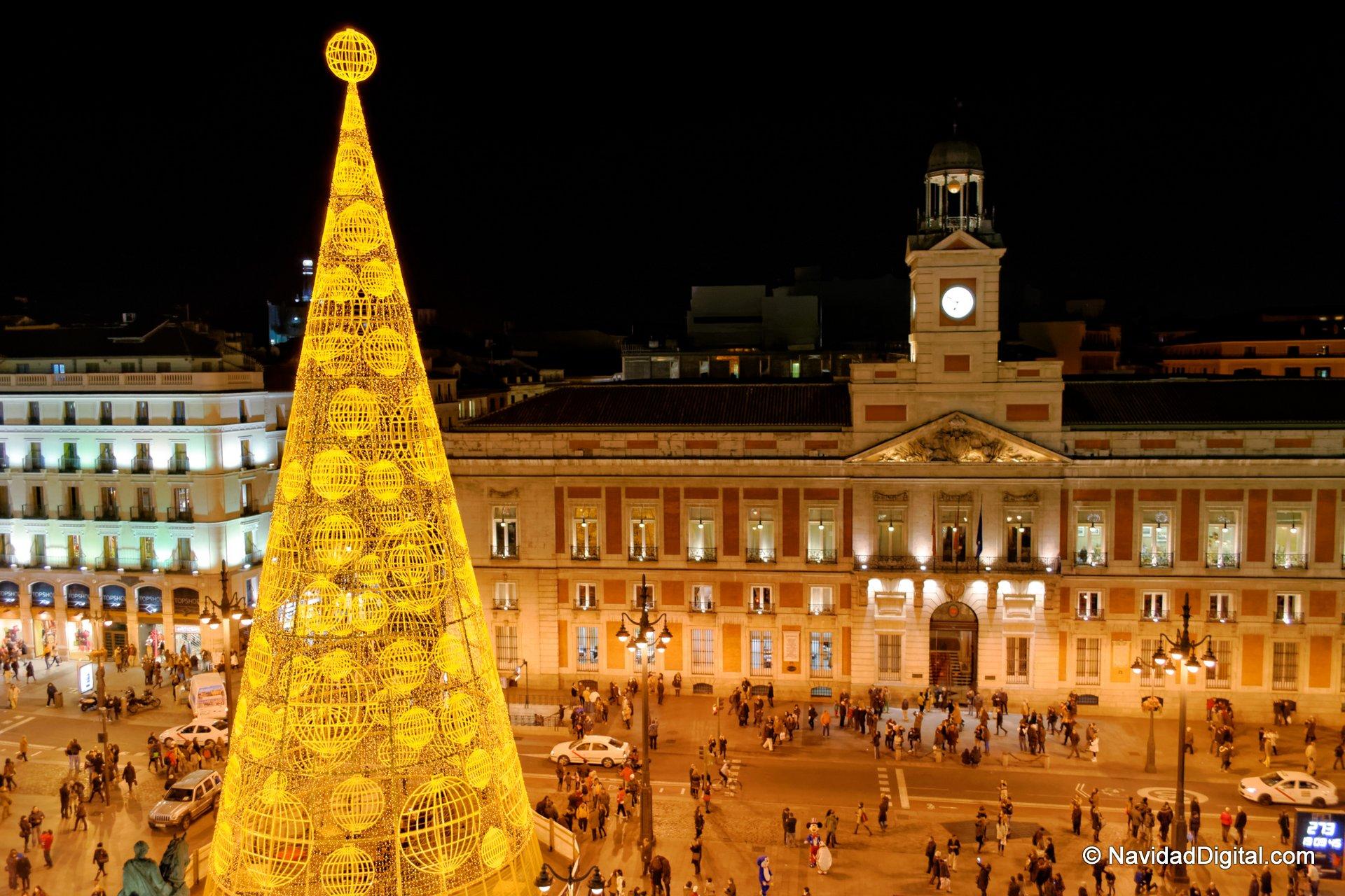 Puerta del sol madrid navidad 2013 madrid spain for Puerta de sol madrid
