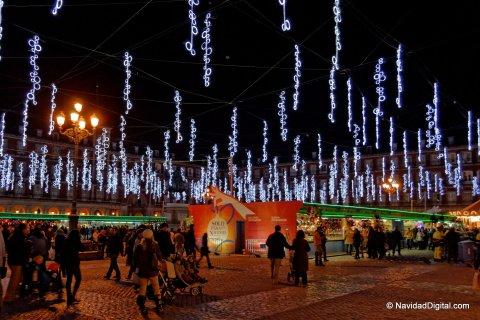 La Plaza Mayor de Madrid Navidad 2013