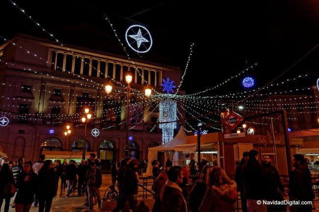 Mercadillo dulces Navidad en Opera