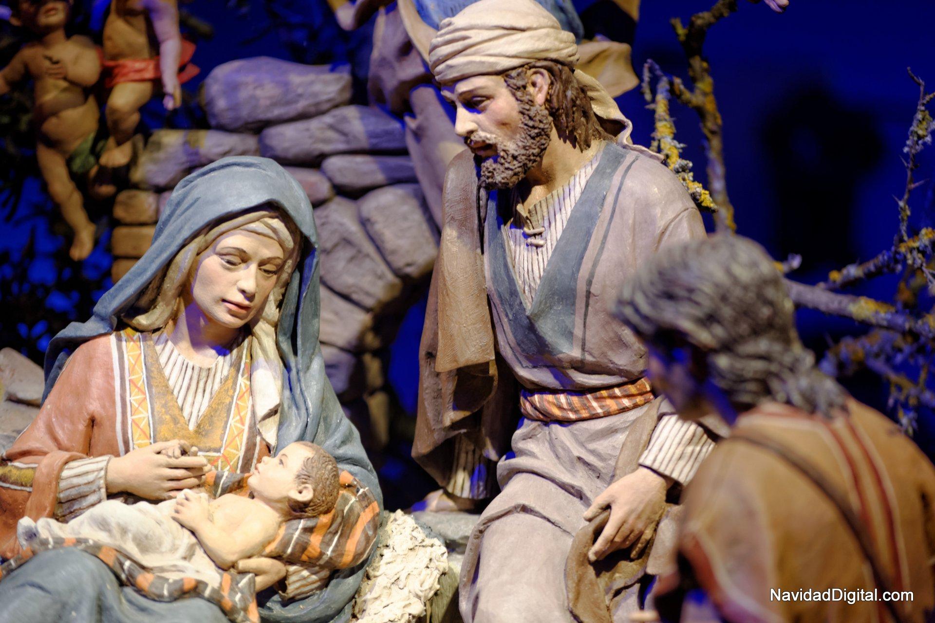 Nacimiento diurno detalle el blog de navidad digital for Nacimiento belen