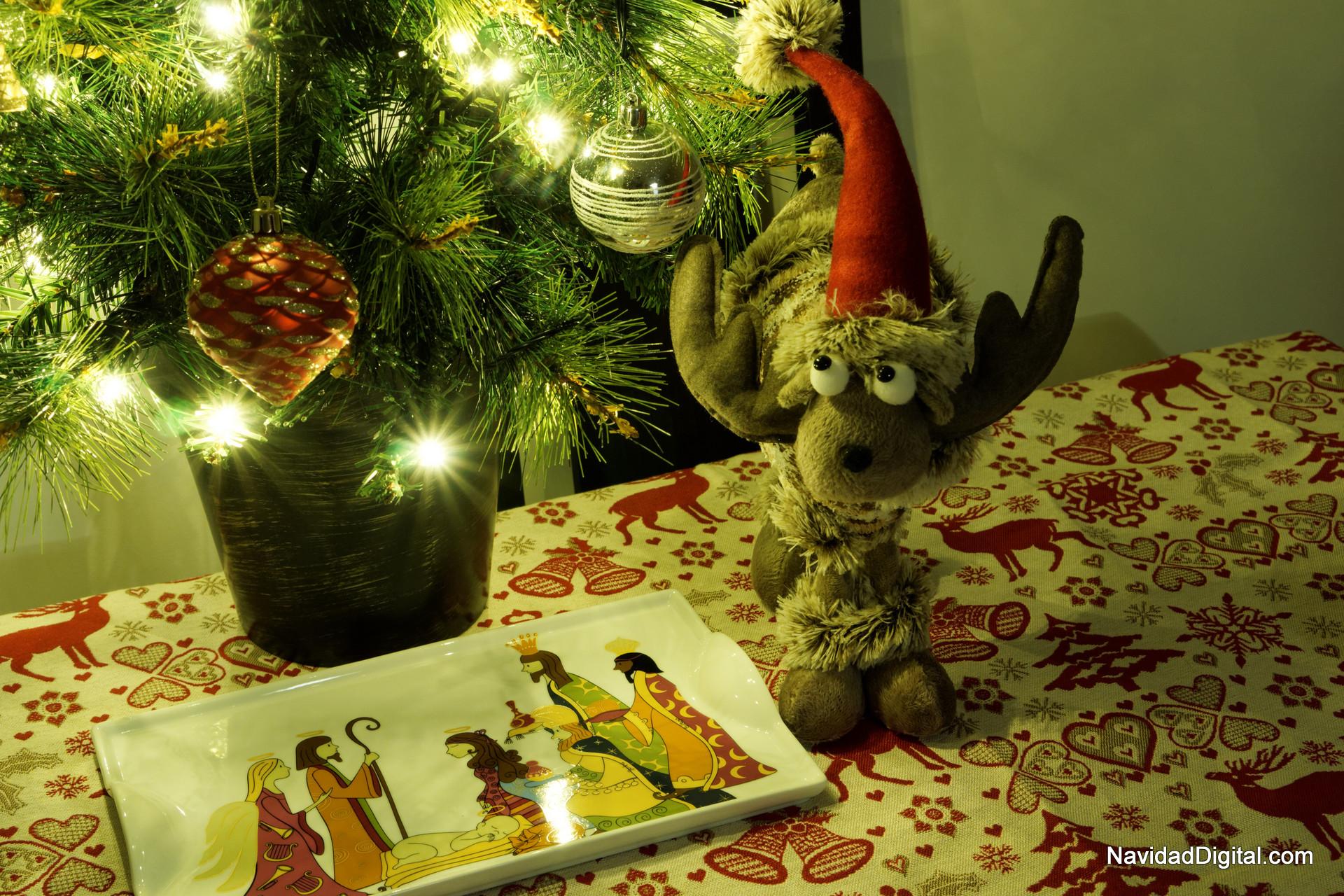un rbol de navidad pequeo