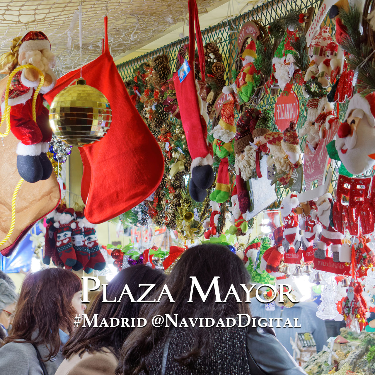 Mercado plaza mayor madrid navidad 2014 el blog de - Mercado de navidad en madrid ...