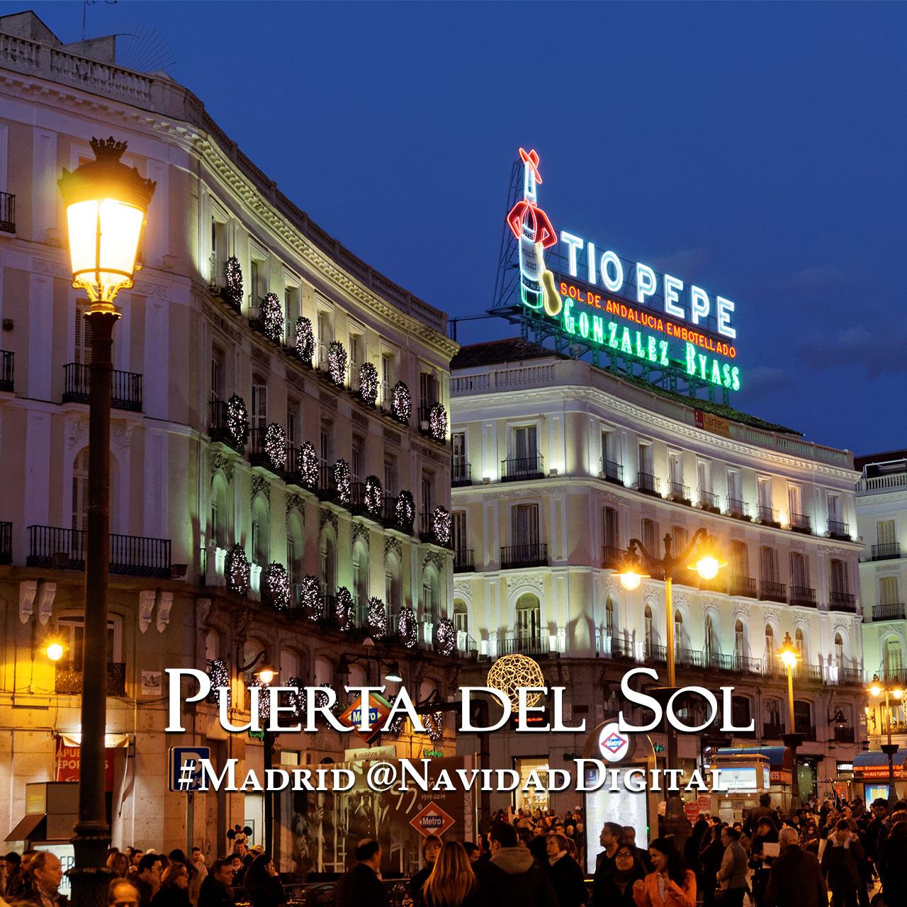 Especial navidad madrid 2014 2015 el blog de navidad digital for Tio pepe puerta del sol madrid
