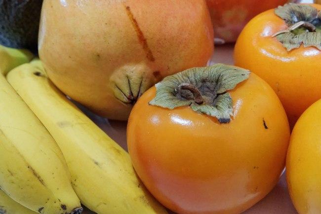 caqui-platano-persimon-granada