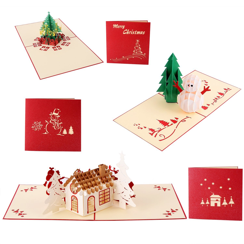 Postales navidad originales postales de navidad hechas a - Como hacer tarjetas de navidad ...