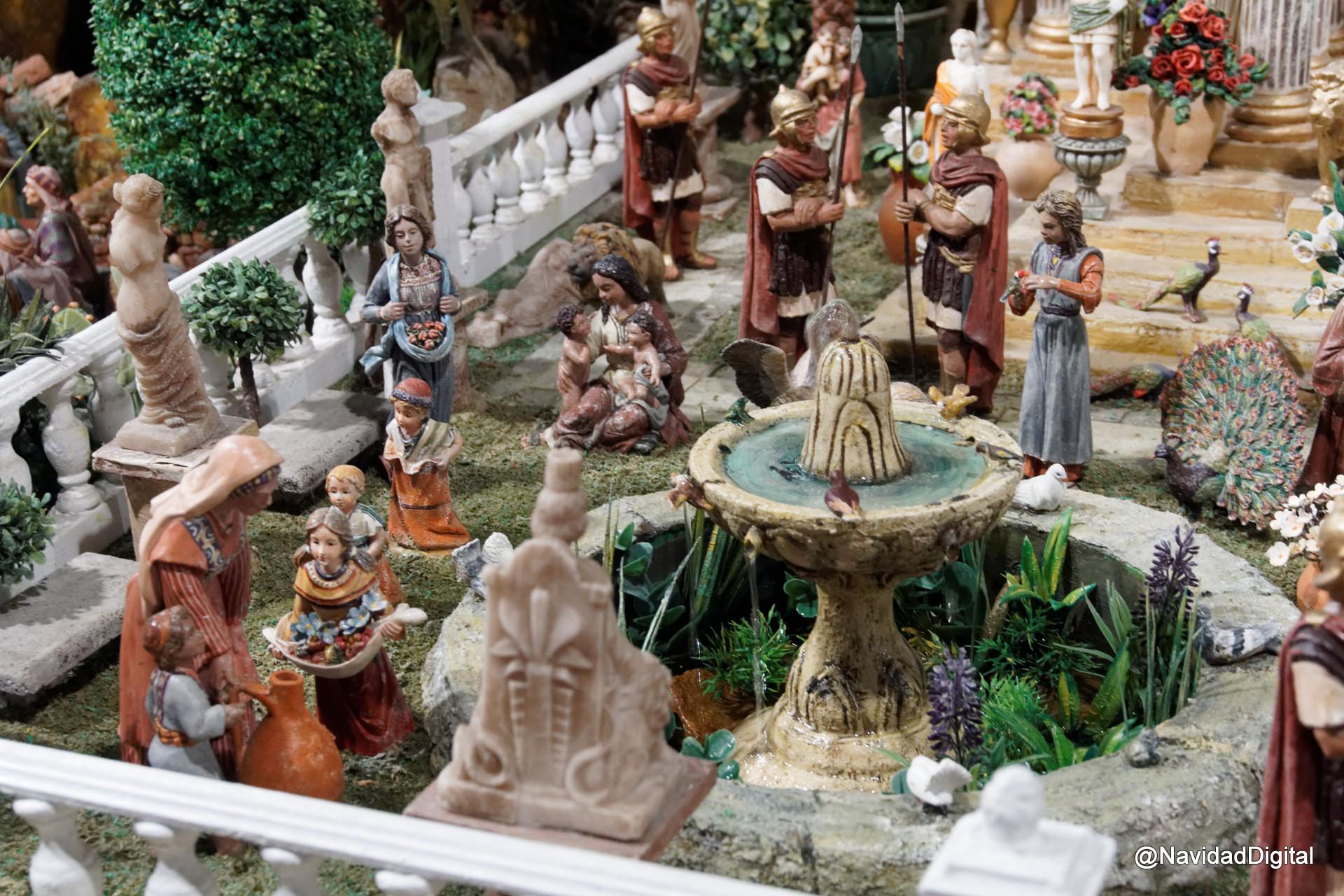 Romanos belen roca dsc01754 el blog de navidad digital for Belen de roca