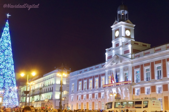 Especial navidad madrid 2017 2018 el blog de navidad digital for Puerta del sol 2017